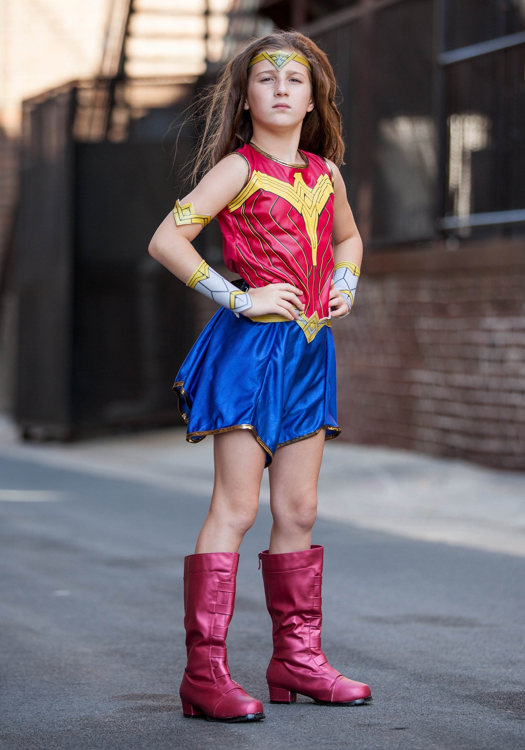 Child Dawn Of Justice Wonder Woman Costume-7845