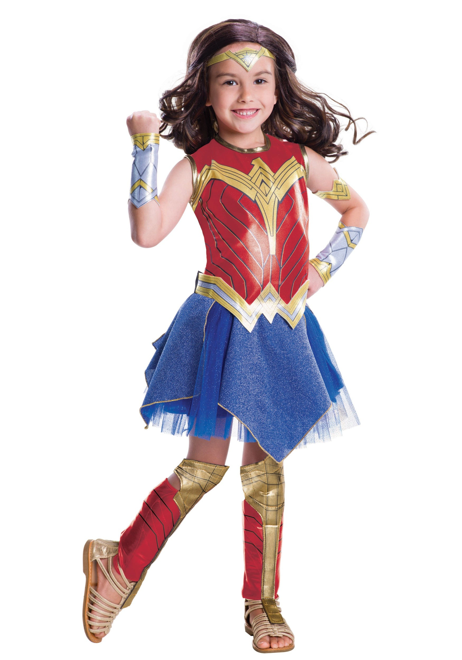 Deluxe Child Dawn Of Justice Wonder Woman Costume-6541