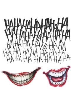 Suicide Squad Joker Tattoo Kit