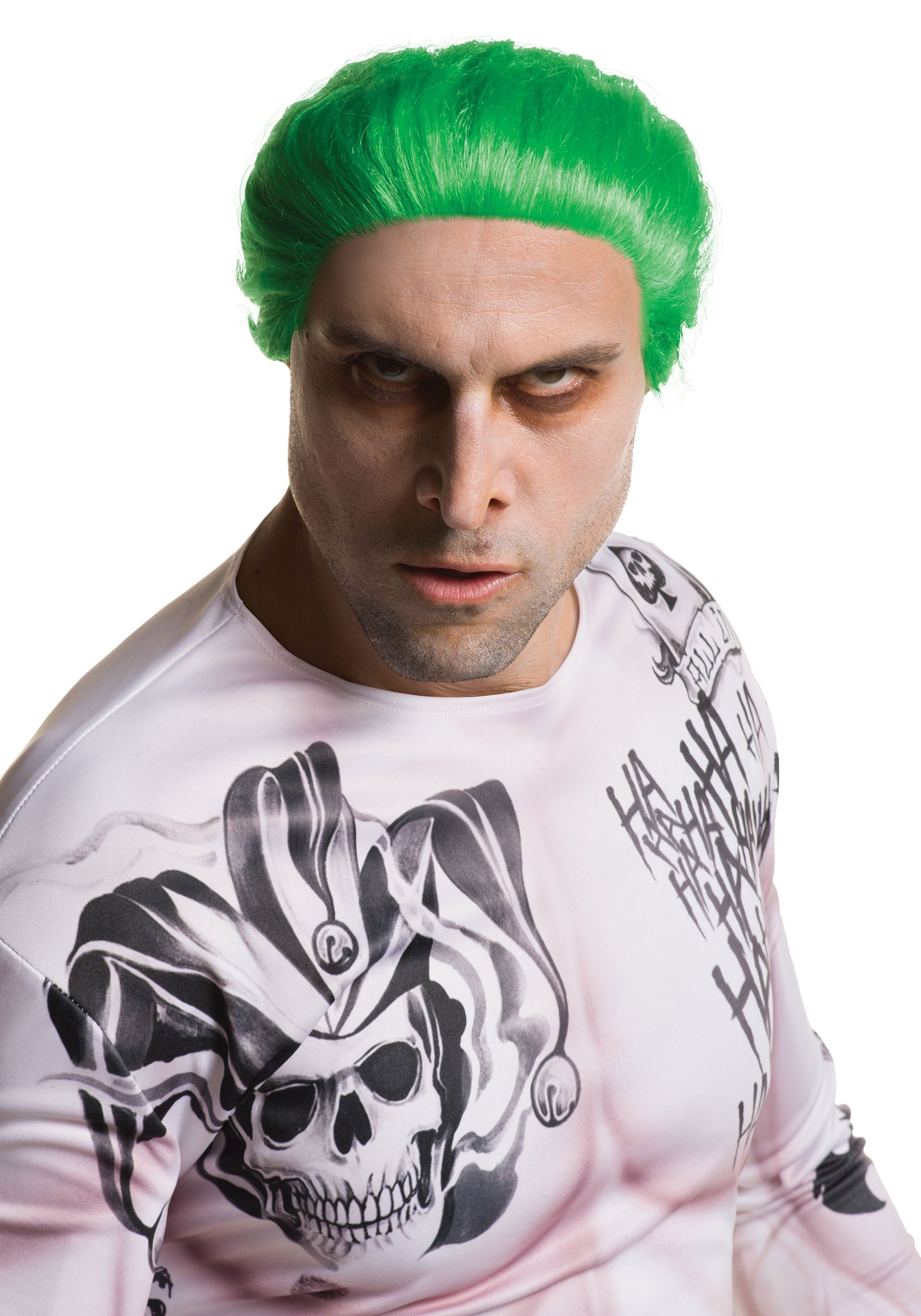 suicide squad adult joker wig. Black Bedroom Furniture Sets. Home Design Ideas