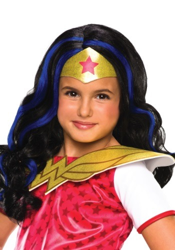 DC Superhero Girls Wonder Woman Wig