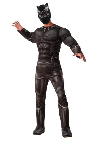 Men's Deluxe Civil War Black Panther Costume