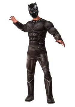 Men's Deluxe Civil War Black Panther Costume