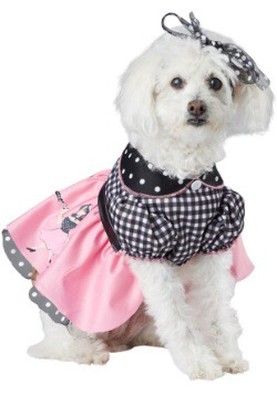 Poodle Skirt Dog Costume