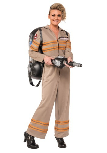 Women's Deluxe Plus Size Ghostbusters Movie Costume