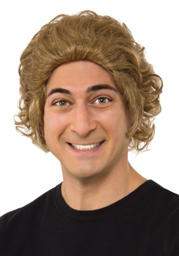 Mens Willy Wonka Wig