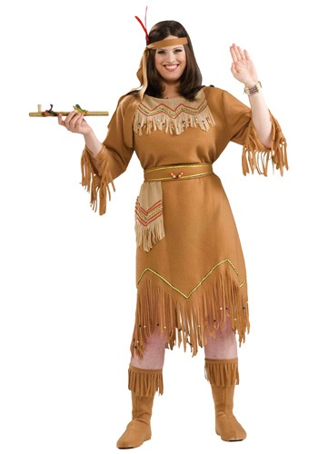 Plus Size Native American Costume