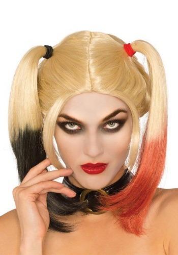 Women's Deluxe Harley Quinn Wig