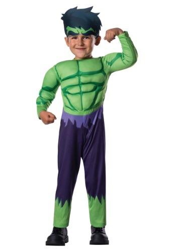 Toddler Deluxe Hulk Costume
