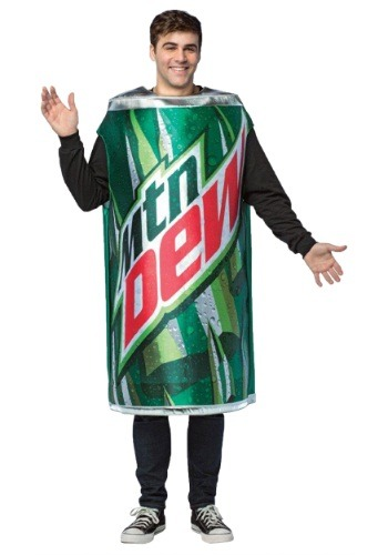 Mountain Dew Can Costume