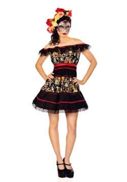 Fiesta of the Dead Party Dress