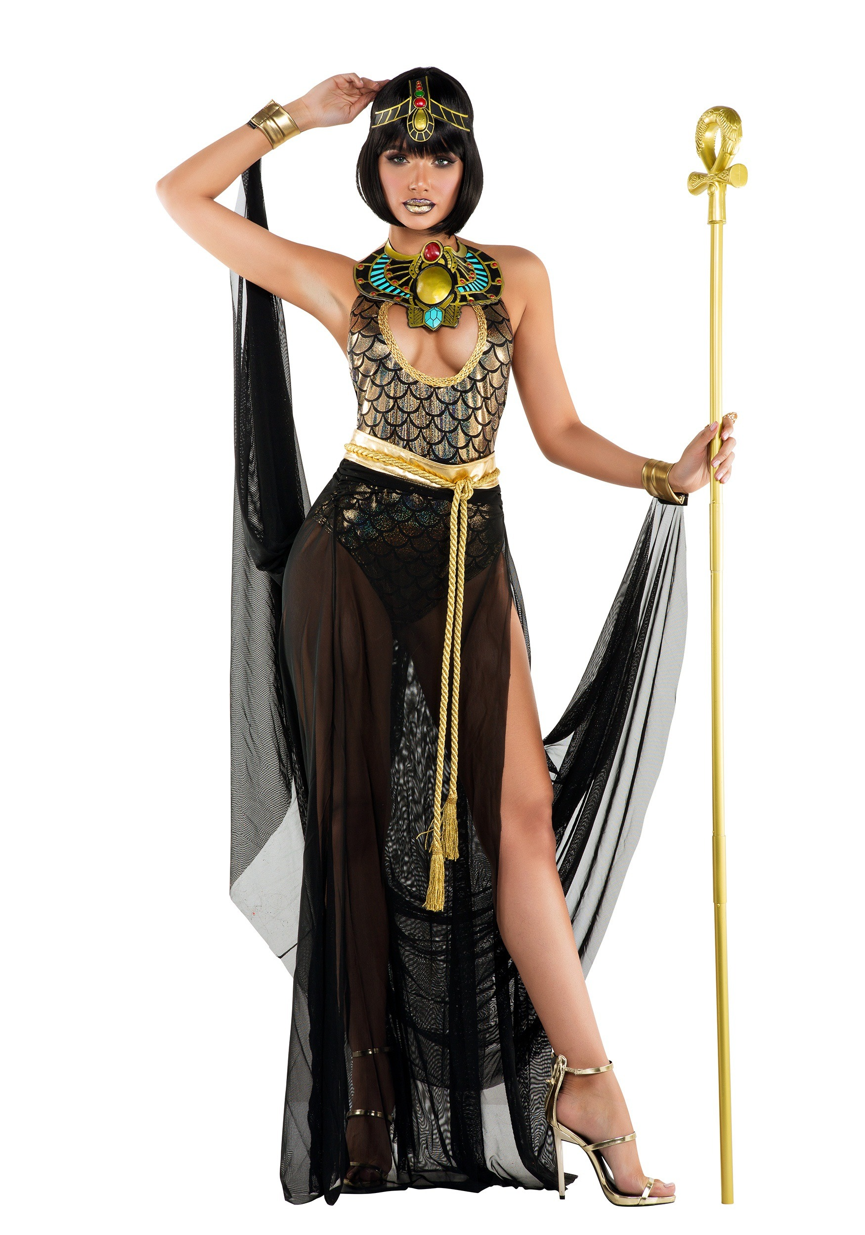 Womenu0027s Sexy Cleo Costume  sc 1 st  Halloween Costumes UK : cleopatra costume uk  - Germanpascual.Com