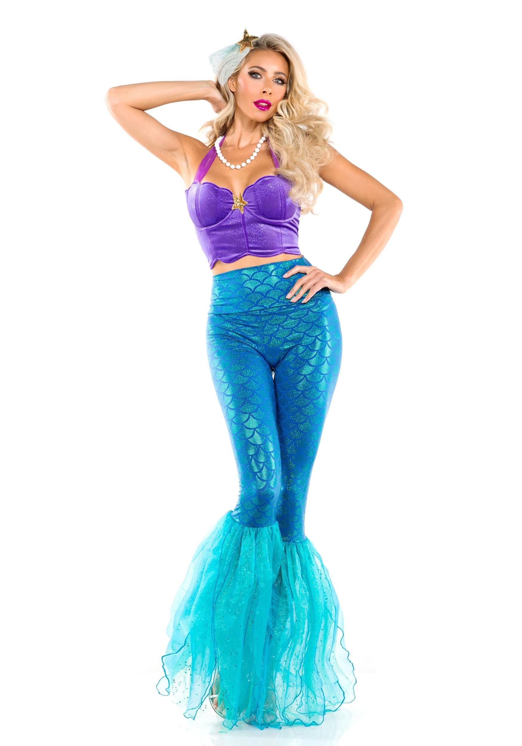 Women S Fantasy Mermaid Costume