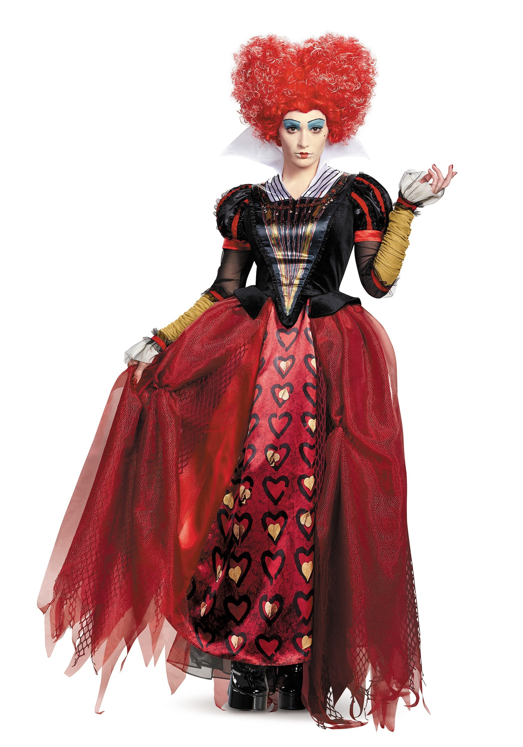 queen of hearts costumes - plus size, child, adult queen of heart