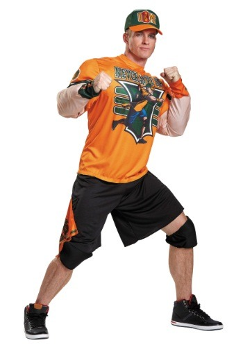 John Cena Adult Muscle Costume