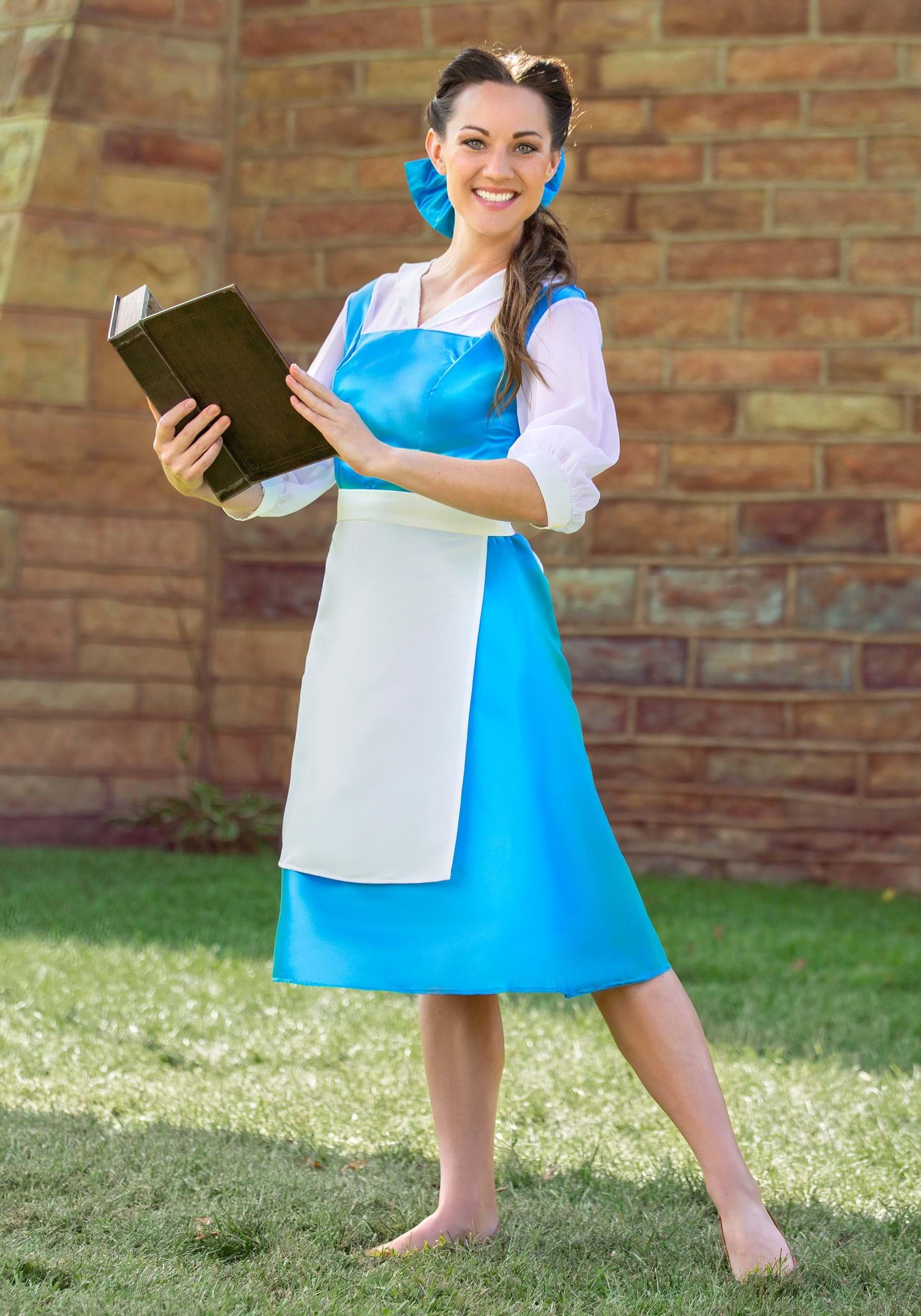 Superior Adult Belle Blue Dress