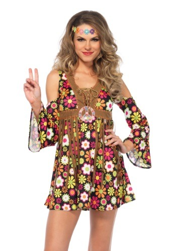 Women's Starflower Hippie Costume