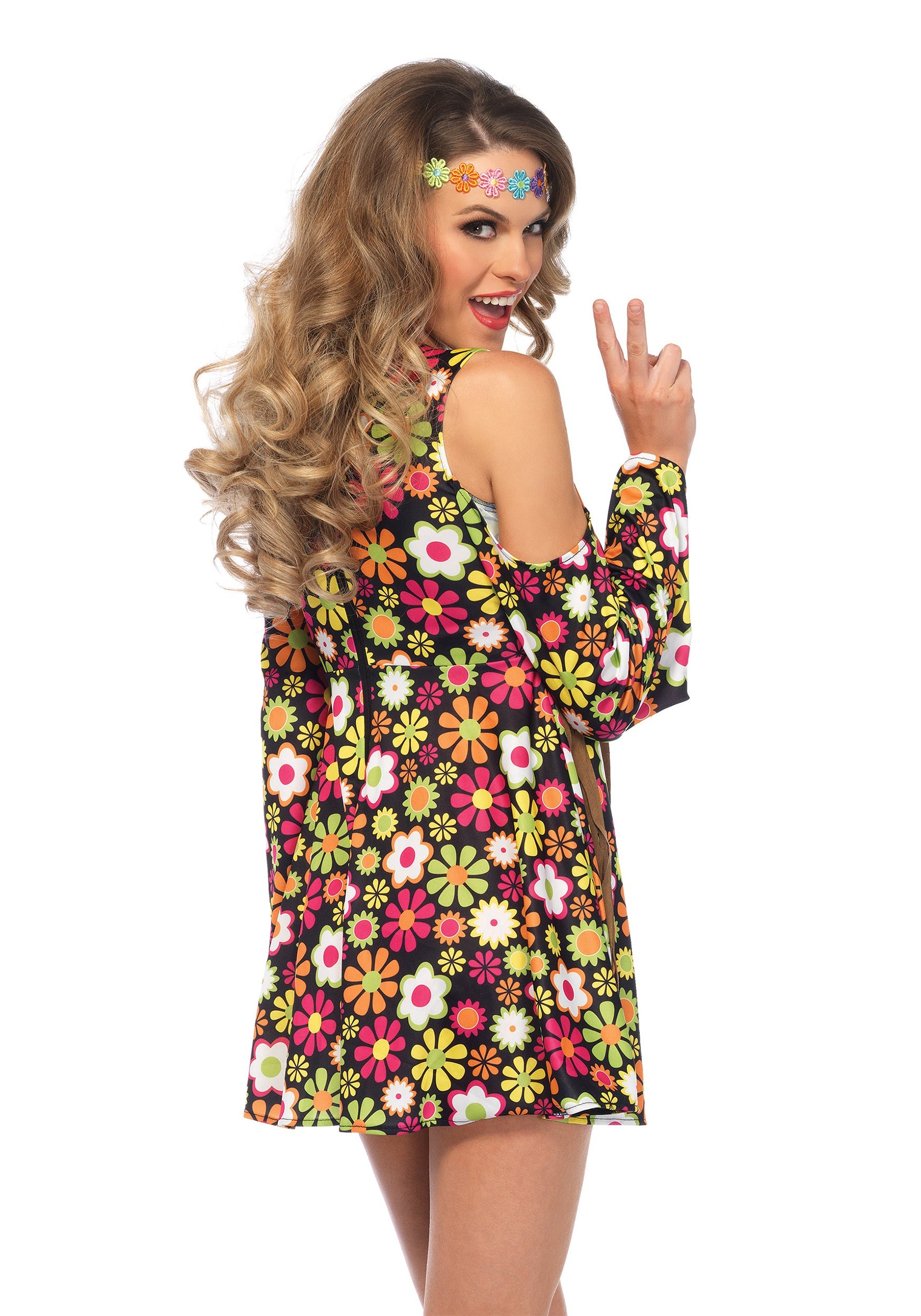 Hippie Girl Halloween Costume.Women S Starflower Hippie Costume