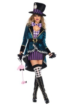 Women's Delightful Hatter Costume