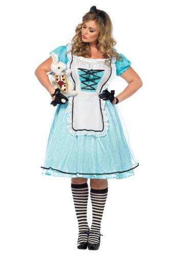 Plus Size Tea Time Alice Costume
