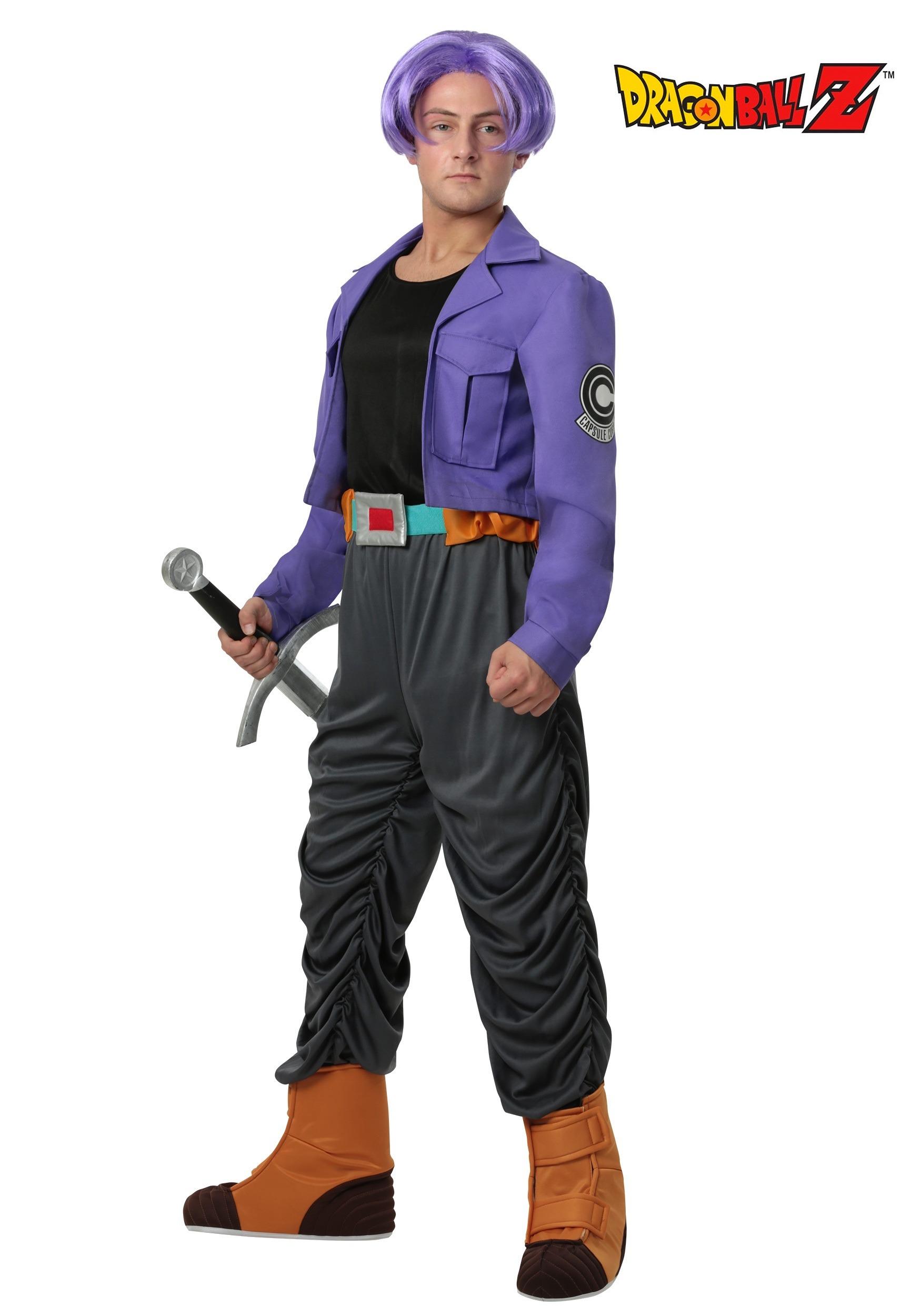 Dragon Ball Z Trunks Costume For Men