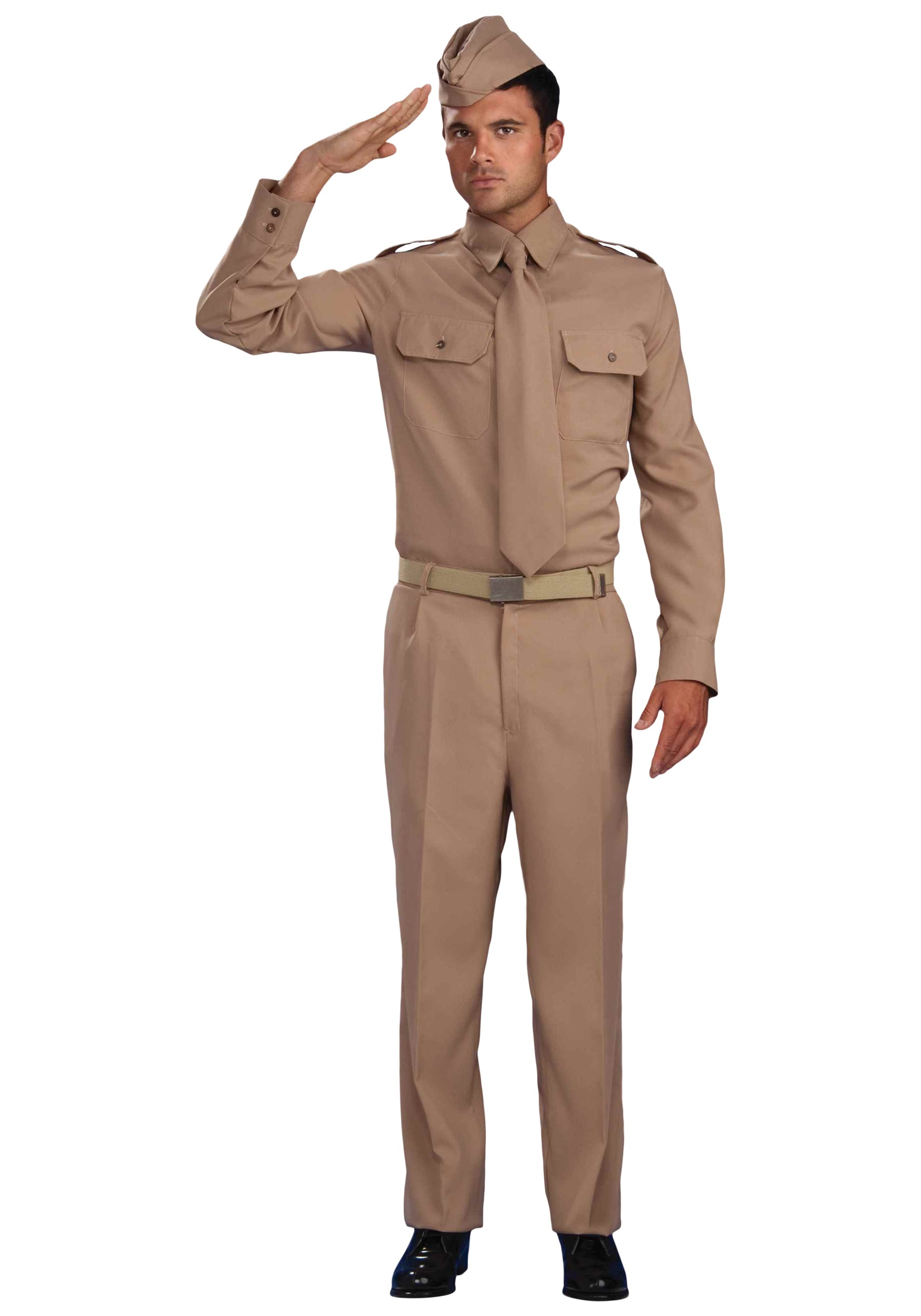 WW2 Army Costume  sc 1 st  Halloween Costumes UK & Military Costumes - Adult Kids Army and Navy Halloween Costume