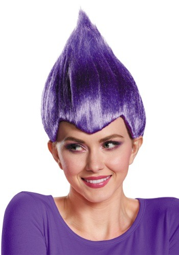 Purple Wacky Adult Wig