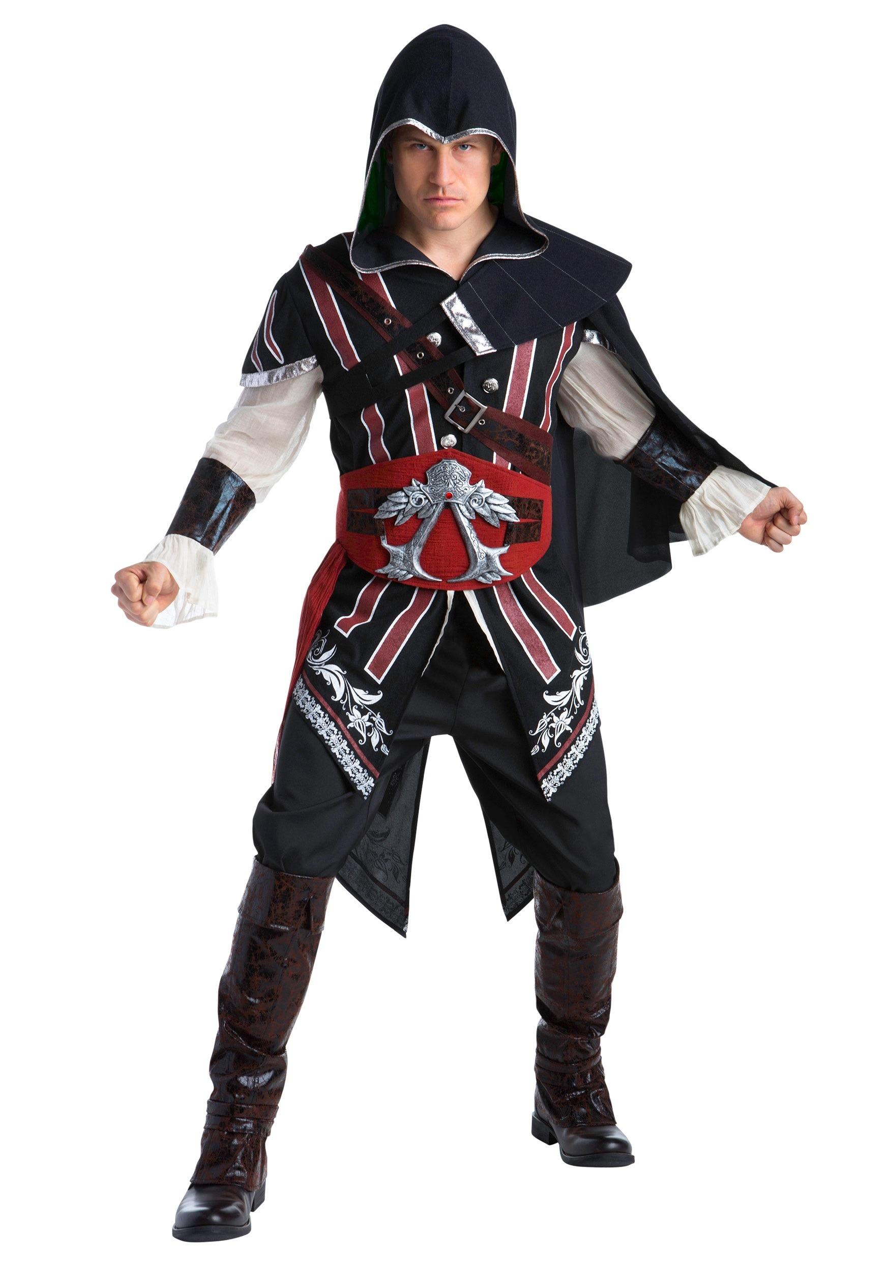 Assassins Creed: Ezio Deluxe Adult Fancy Dress Costume