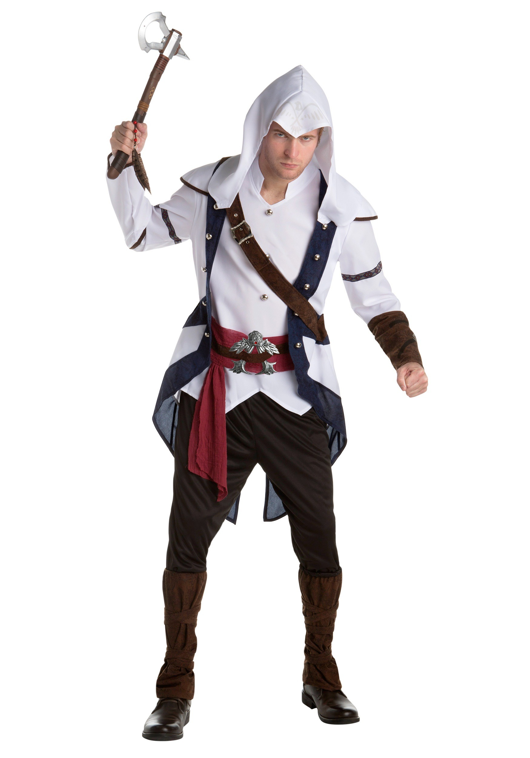 Assassins Creed: Connor Classic Adult Fancy Dress Costume