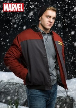 Adult Iron Man Casual Jacket (Secret Identity)
