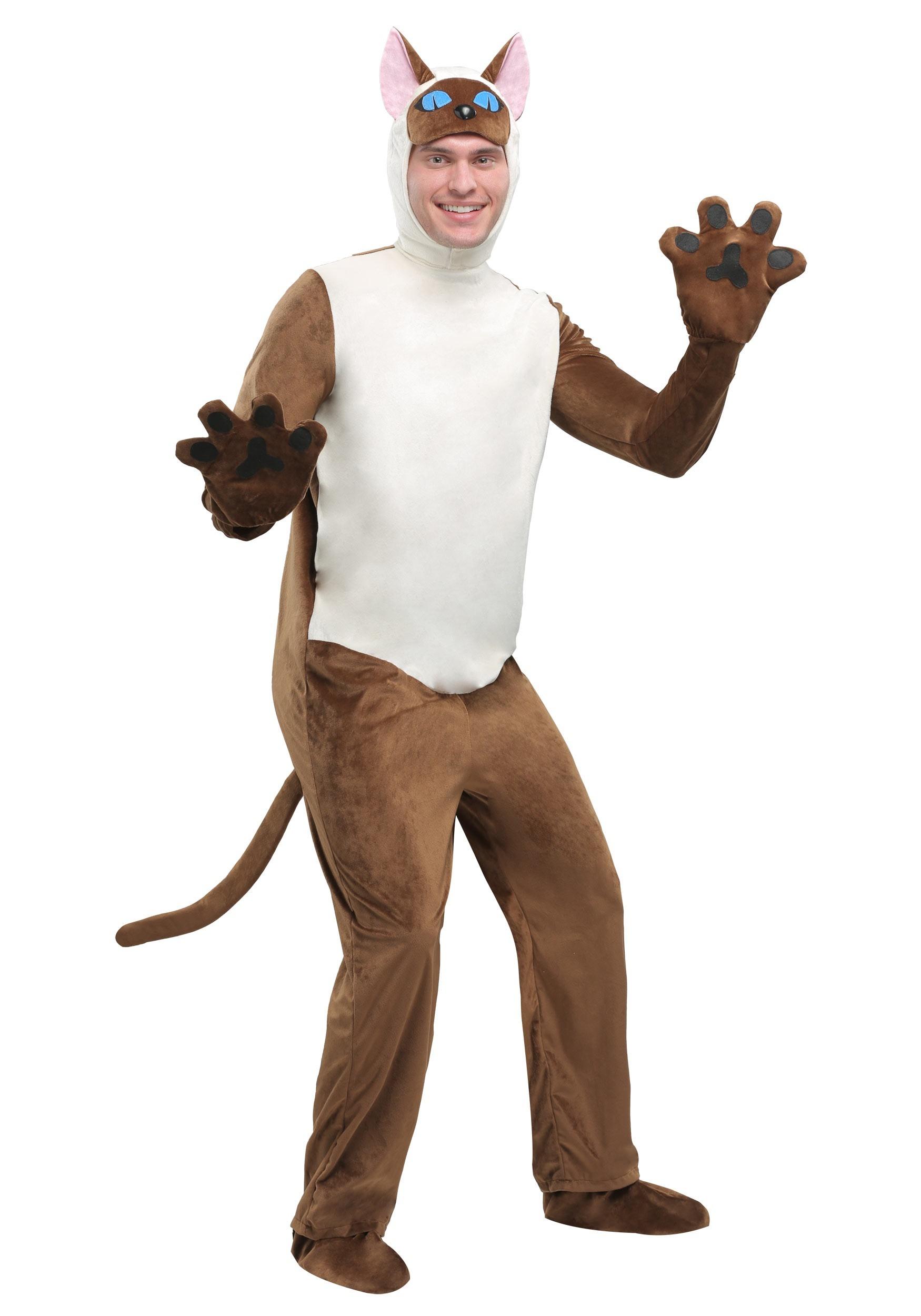 siamese cat adult costume