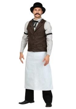 Plus Size Old West Bartender Costume