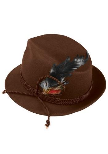 Brown Oktoberfest Hat