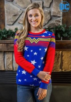 Women's Wonder Woman Tunic Sweater