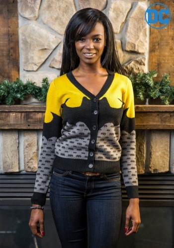 Women's Batman Cardigan