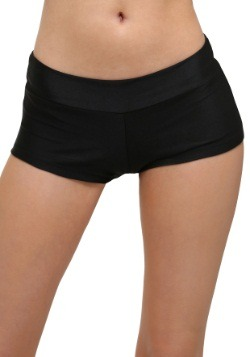Deluxe Black Hot Pants