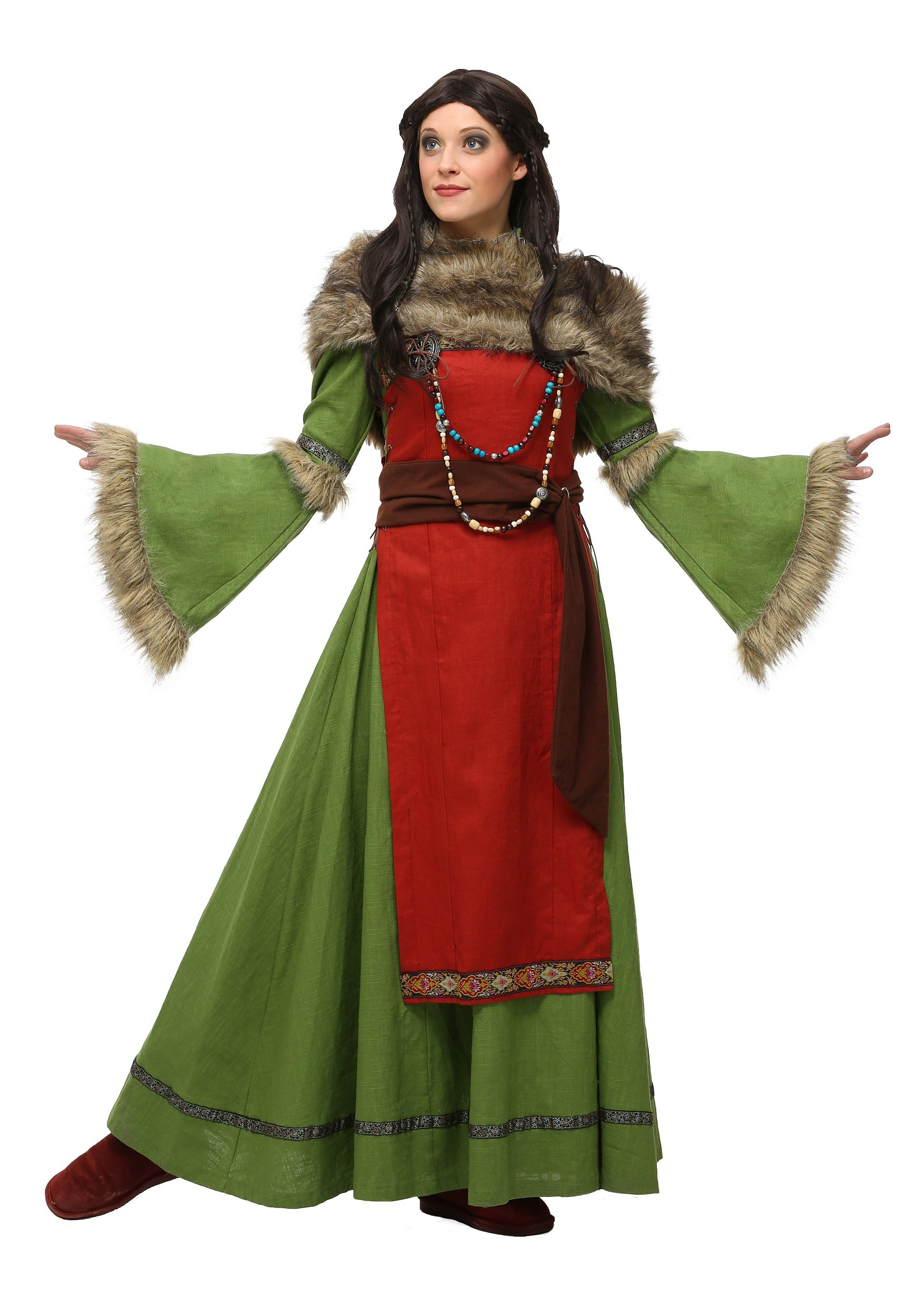 Womenu0026#39;s Peasant Viking Costume
