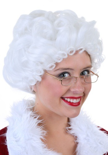Fever Quality Mrs. Claus Wig