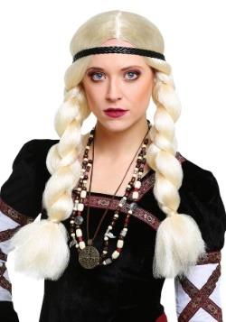 Blonde Viking Wig