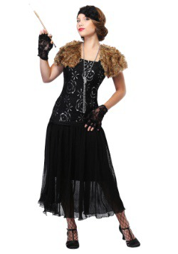 Women's Plus Size Charleston Flapper