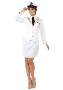 Naval Officer Womens Costume