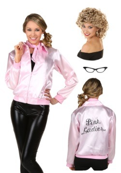 Womens Pink Ladies Jacket Package