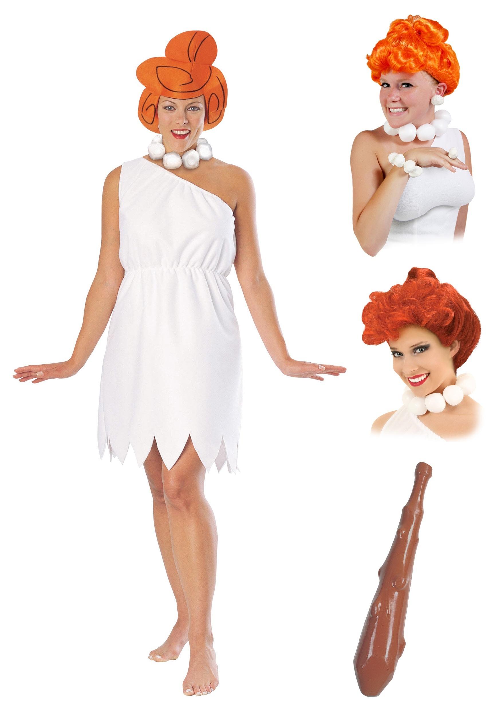 Womenu0027s Wilma Flintstone Costume Package  sc 1 st  Halloween Costumes UK & Wilma Flintstone Costume Package for Women