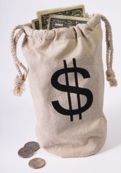 Bank Money Bag