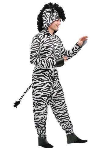 Wild Zebra Mens Costume