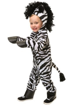 Wild Zebra Toddler Costume
