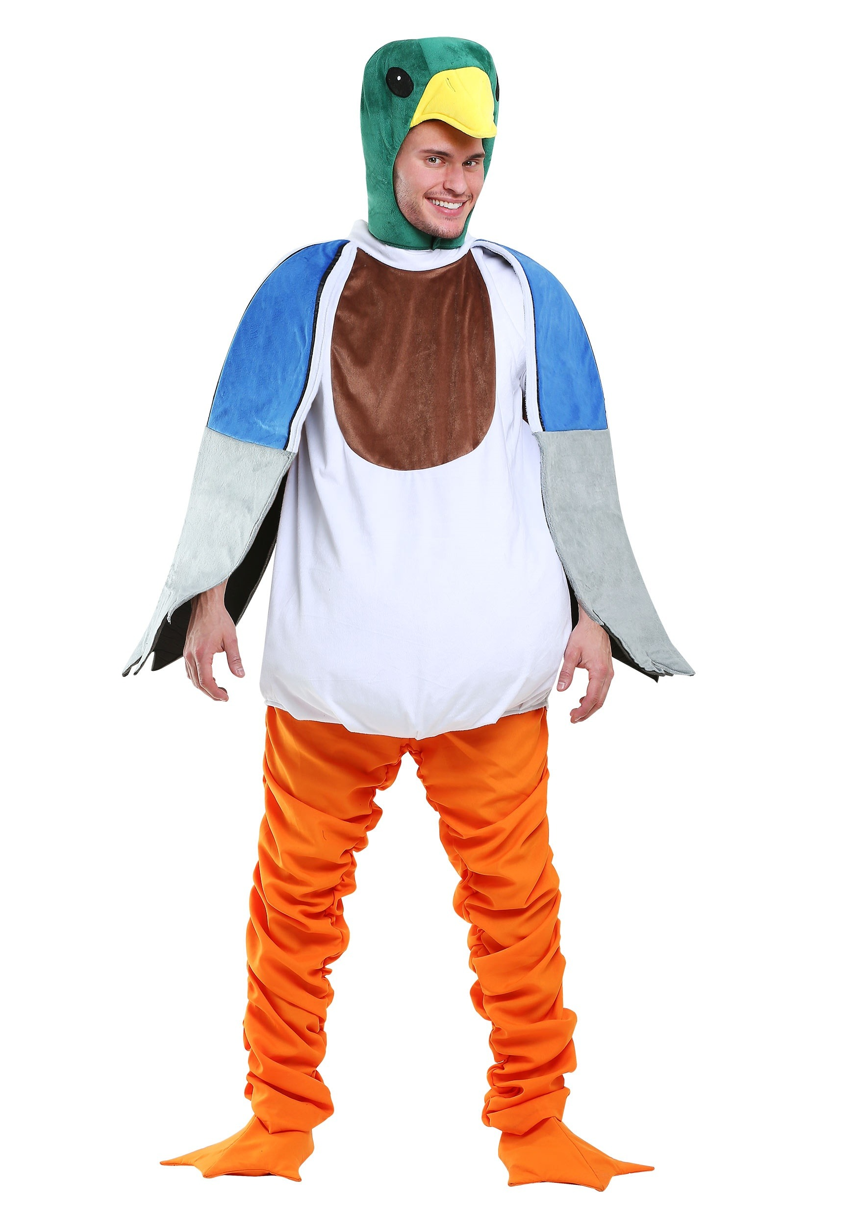 Mallard Duck Fancy Dress Costume for Men