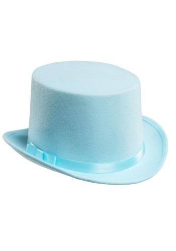 Blue Tuxedo Top Hat