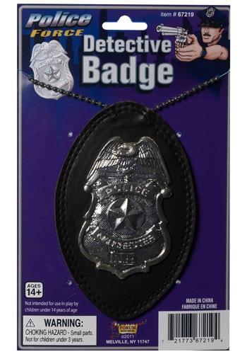 Police Detective Badge