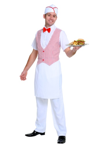 Men's 50s Car Hop Costume